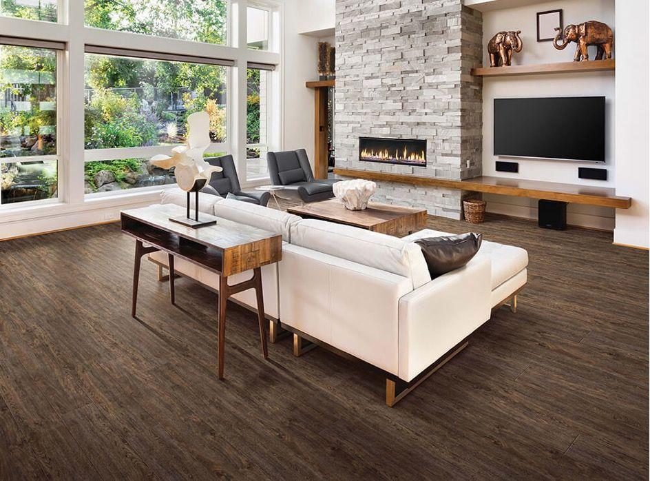 Waterproof flooring in living room | The Floor Store