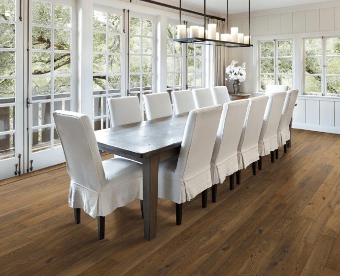 Dining room flooring | The Floor Store
