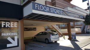 customers parking   The Floor Store